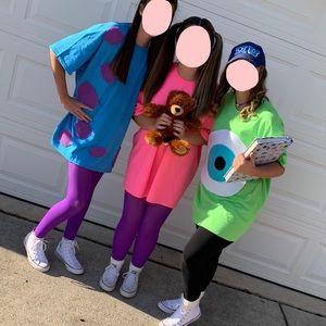 Diy Mike Wazowski Halloween Costume